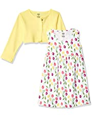 Luvable Friends baby-girls Dress and Cardigan Set Casual Dress