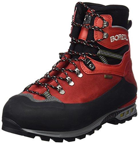 Boreal Nelion Zapatos de montaña, Unisex Adulto, Rojo, 8