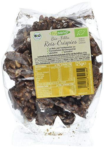 Frusano Bio Filita Reis-Crispies, 3er Pack (3 x 125 g)