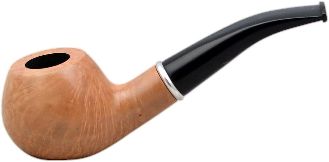 No 76 Briar Apple Nude Smooth Tobacco Smoking Pipe from Golden Pipe (Poland)