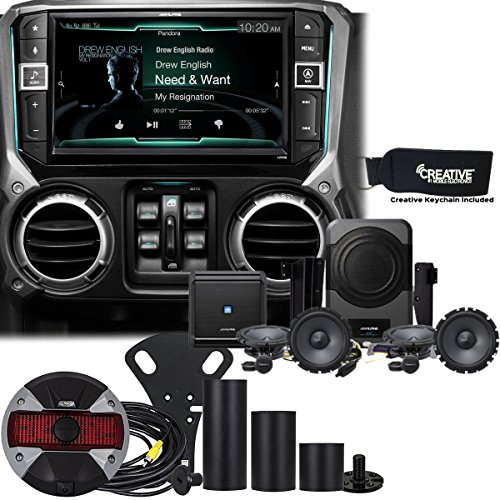 Lowest Price! Alpine Restyle - X209-WRA 9 GPS, DVD, Radio, HCE-TCAM1-WRA Spare Tire Rear View Camer...