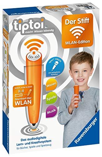 Ravensburger tiptoi 00036 - Der Stift - WLAN Edition von Ravensburger ab 3 Jahren / Das audiodigitale Lern- und Kreativsystem / tiptoi® Audiodateien komfortabel über WLAN herunterladen