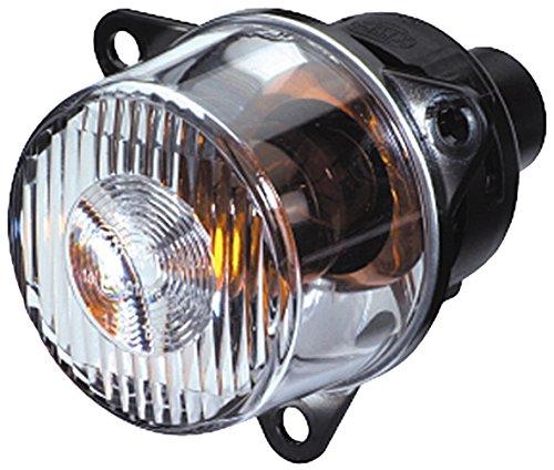 HELLA 2BA 008 221-001 Blinkleuchte - PY21W - 12V/24V - Lichtscheibenfarbe: glasklar - Einbau - Einbauort: links/rechts/vorne