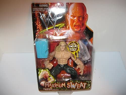 WWF Maximum Sweat TRIPLE H (Hunter Hearst-Helmsley) action figure by Jakks Pacific[action figures, toys and games] by Jakks Pacific