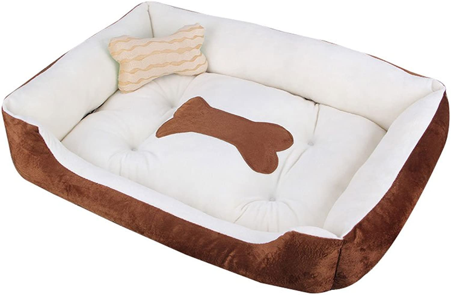 Pet Bed YD Small Dog Medium Size Large Dog Mat Kennel Four Seasons Pet Wolves Dog Supplies Dog House Cat Litter Pet Bed  &