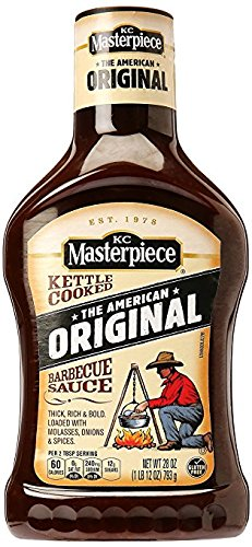 KC Masterpiece Original BBQ Sauce 28oz (2 pack)