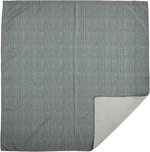 朝倉染布 風呂敷 - 約96×96cm 朝倉染布 超撥水風呂敷ながれ 平織 グレンチェック
