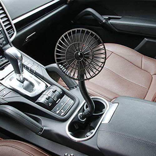 WANGXIAOLINJINGZI Fanático del Coche 12V Ventilador, Mini Fan de Coche Cigarette Encendedor Caravana Camión Vehículo de Vehículo Cooler