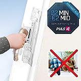 Mediashop ISI Safe Fenster- und Balkon-Terrassen-Türsicherung | Kindersicherung | patentiert | Montage ohne Bohren | auch bei gekippten Fenstern | 2 Minuten 2 Millionen | Powered by