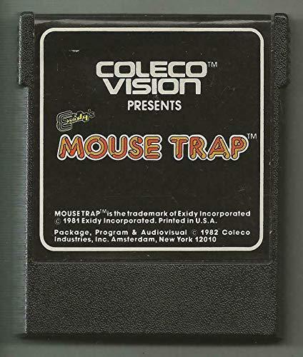 ORIGINAL Vintage 1982 ColecoVision Mouse Trap Game Cartridge