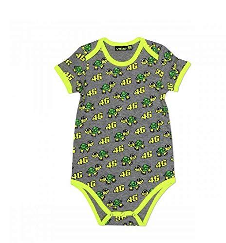 Valentino Rossi Body para niño, niño, VRKBB309003003, Gris, 6 MESI