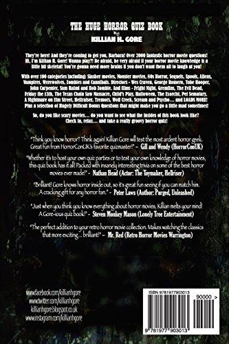 The Huge Horror Movie Quiz Book