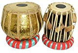 Professional Brass Bayan & Dayan Tabla Set Percussion Musical Instrument with Carry Bag &...