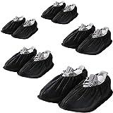 Antislip Anti-Rutsch Schuhüberzieher,überschuhe, überzieher Schuhüberzieher Shoe Cover Hülle, wiederverwendbar, waschbar, Für die meisten Erwachsenen(5 Paare)