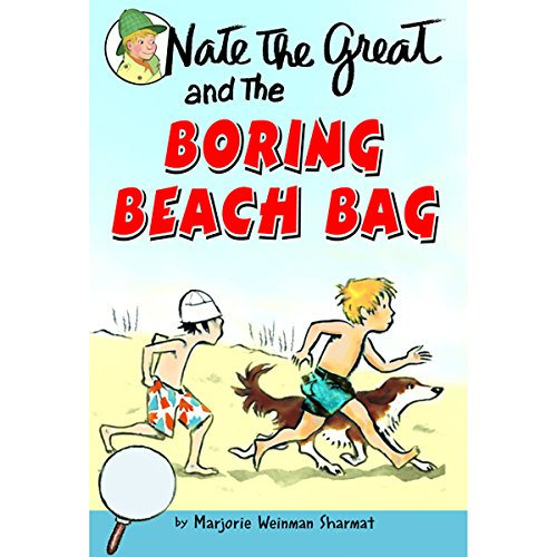 Nate the Great and the Boring Beach Bag audiobook cover art