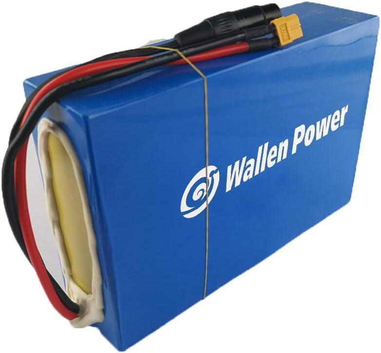 Wallen Power Max 48% OFF Ranking TOP19 52V 20AH Ebike PVC Batt Battery Waterproof Lithium