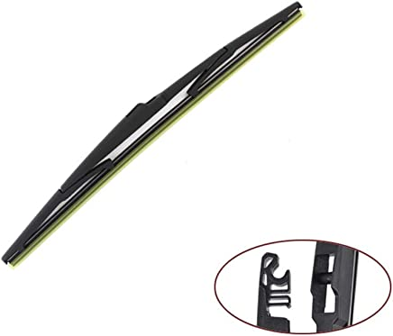 SLONGK 14 Escobilla del Limpiaparabrisas Trasero, para El Parabrisas del Parabrisas Hyundai H-1