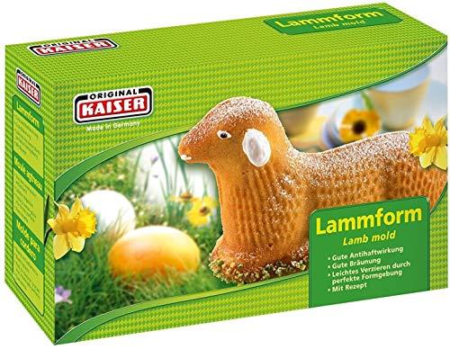 WMF Kaiser Osterbackformen Lamm/Hasen Backform antihaftbeschichet Oster-Backform (Lammform)