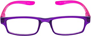 The Reader Reading Glasses Unisex Necktie, Purple Pink, 1.00