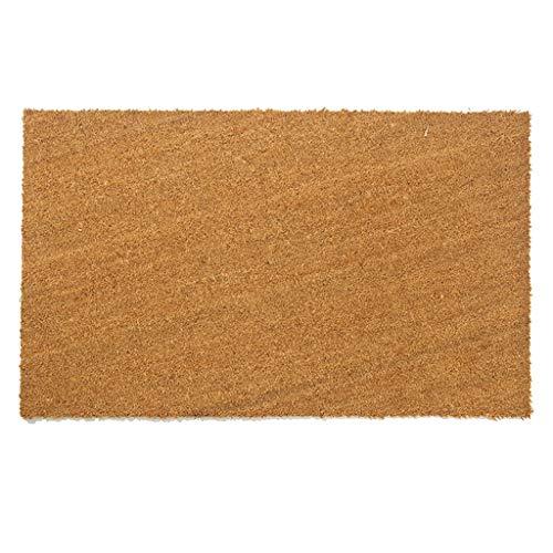 Liming Vloerkleed, vuilvangmat, deurmat, deurmat, schoonloopmat, vuilafstotend, voor binnen en buiten, natuurlijke kleur