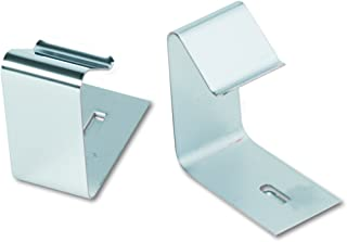 Quartet 7501 Flexible Metal Hangers for Panels 1-1/2-2-1/2 Thick, 2 Hangers/Set