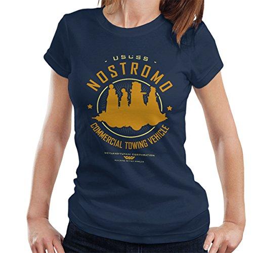 USCSS Nostromo Starfreighter Alien Women's T-Shirt