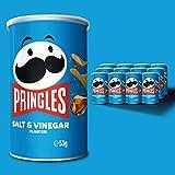 Pringles Salt & vinegar Tubo 53g x 12