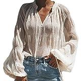 Camisa Mujer Casual Leopardo Patchwork Bloque de Color Cuell