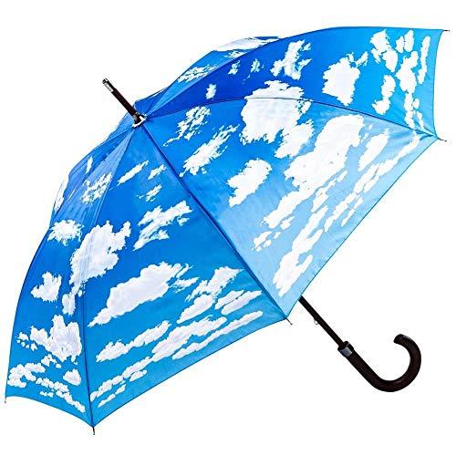 Regenschirm Stockschirm Motiv Wolken