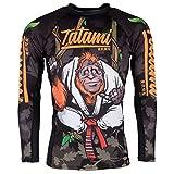 Tatami Rashguard Hang Loose orangu Tang–Función Camiseta, BJJ MMA Grappling...