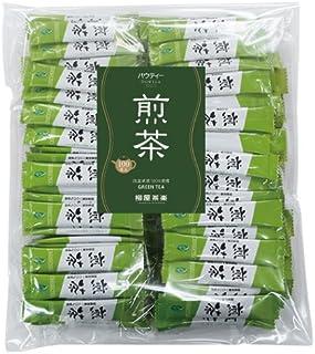 【 煎茶スティック 1杯分 × 100本入り 】 業務用・インスタントティー・粉茶・粉末茶・パウダー茶・パウティー