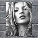 wzgsffs Kate Moss Leinwand Poster und druckt Wandkunst Bild