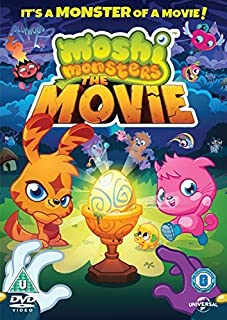 Moshi Monsters The Movie [NON USA FORMATTED VERSION REGION 2 DVD]