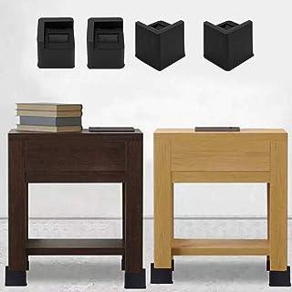 PEALO Elevadores de Muebles Ajustables Premium - Elevador de Cama, Elevador de Mesa, Elevador de Silla o Elevador de Sofá (Negro) current