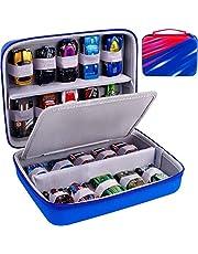 ALKOO Förvaringsfodral kompatibel med Hot Wheels 20 bilar presentpaket, 01806 900 H7045 20 formgjuten förpackning och mini leksaksbilar, organiserare displaybox för hotwheels leksaksbil/tändlåda bilsbehållare – endast fodral