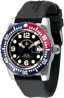 Zeno Watch Basel - Reloj para Hombre Analógico Automático con Brazalete de Silicona 6349-3-a1-47