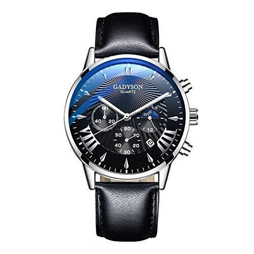 Relojes para hombres New Hombres Relojes de lujo Famosos Menores Menores de acero inoxidable Calendario de malla Menores Hombres Negocio Luminoso Cuarzo Majestado Despacho de venta de relojes para hom