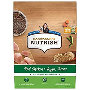 Rachael Ray Nutrish Bright Puppy Premium Natural Dry Dog Food, Real Chicken & Brown Rice Recipe, 6 Pounds (Packaging May Vary)