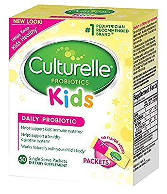 Culturelle Kids Packets Daily Probiotic Supplement yDztsV, 2Packs (50 Count)