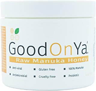 Raw Manuka Honey - Hydrating Face Mask - Raw Honey, Organic & Unfiltered - Medical Grade Manuka Honey From New Zealand - Acne, Melasma, Eczema & Psoriasis Relief - Dry Skin Treatment (4 oz)