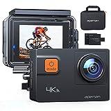 APEMAN Action Cam A80, 4K 20MP WiFi Impermeabile 40M 4XZoom Fotocamera Subacquea Digitale,...