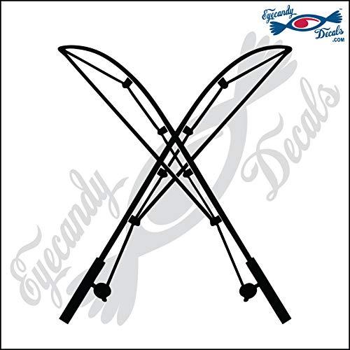 Top 10 Best Crossed Fishing Rod Sticker Comparison