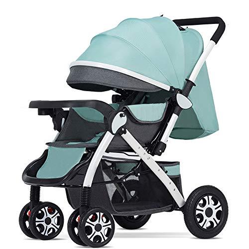 WONOOS Universell Für Kinderwagen Kinderwagen-Buggy-Kinderwagen, Baby Reisewetter Schild,Grün