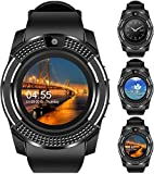 Faawn Smart Watch with Bluetooth, Sim Card Health and Fitness Tracker Smart Watches for Men Boys and Girls ( smartwatchs ) -Black