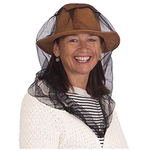 EVEN Naturals Premium Mosquito Head Net Mesh, Ultra Large, Extra Fine Holes, Insect Netting, Bug Face Shield, Soft Durable Fly Screen, Protection for no See um Midges Gnats, Carry Bag, Chemical Free