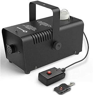 Stage Accessories Effect Machines Powerful Fog Smoke Mist Machine Mini LED RGB Wireless 400W Stage Effect Disco DJ Party C...