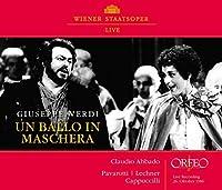 Verdi: Un Ballo In Maschera [Luciano Pavarotti; Piero Cappuccilli; Orchester und Chor der Wiener Staatsoper, Claudio Abbado] [ORFEO: C907162I] by Luciano Pavarotti
