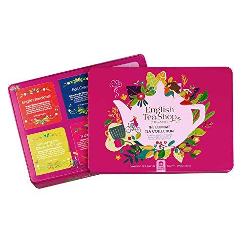 "English Tea Shop - Tee-Kollektion in edler Metalldose ""Ultimate"", BIO, 36 Teebeutel"