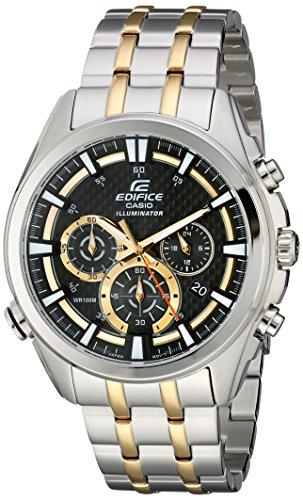 Reloj Casio Edifice para Hombres 50mm, pulsera de Acero Inoxidable