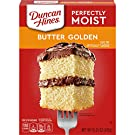 Duncan Hines Perfectly Moist Butter Golden Cake Mix, 12 - 15.25 OZ Boxes